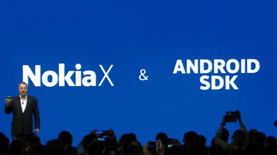 NokiaX_androidSDK